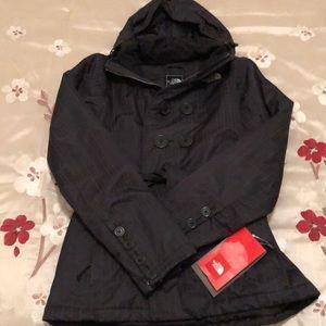 NWT north face black bridal veil jacket.